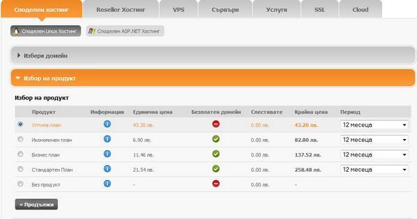 фирми за домейни в България