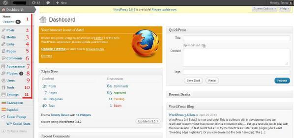 Курс по wordpress, категории и етикети,