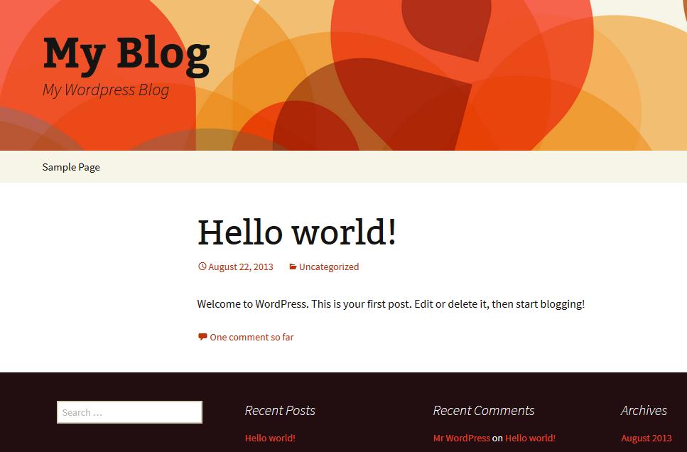 как да наглася WordPress